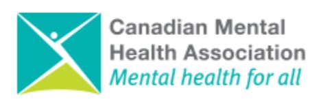 CANADIAN MENTAL HEALTH ASSOCIATION, THUNDER BAY BRANCH