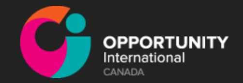 OPPORTUNITY INTERNATIONAL CANADA