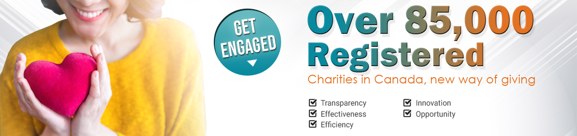 How many charities in Canada? CRA Canada has 85K registered charities in Canada