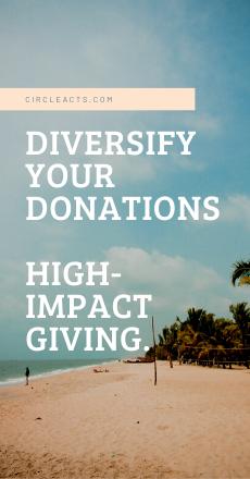 donate to many charities Canada