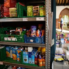 Donate to a food bank